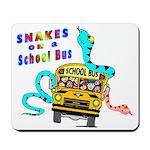 Snakes on a School Bus Mousepad