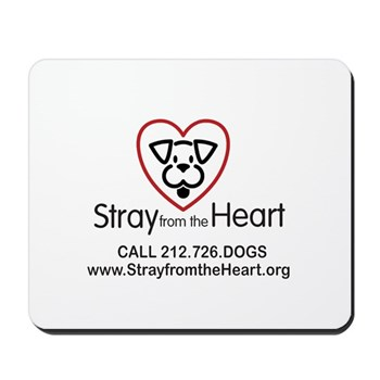 Stray From The Heart Mousepad