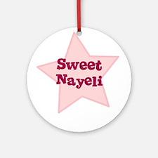 Sweet Nayeli Ornament (Round)