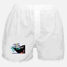 Snakes on a Cruise ship Boxer Shorts