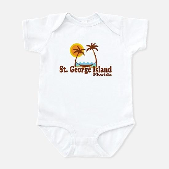 St. George Island FL Infant Bodysuit