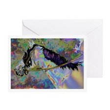 """Rainbow Runner"" Greeting Card"