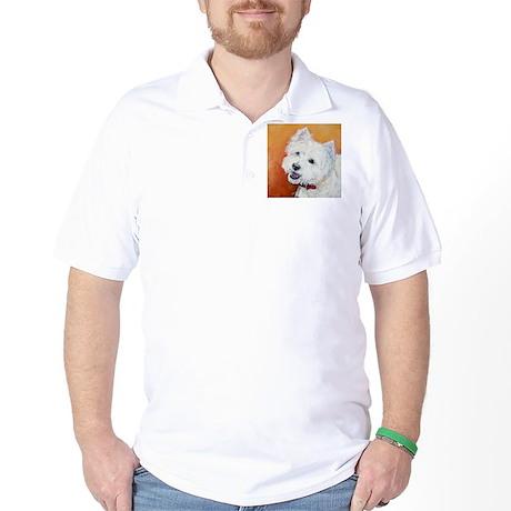 """""""Booker's"""" Westie stuff! Golf Shirt"""