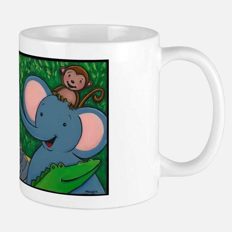 Safari Baby Animals Mug