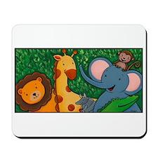Safari Baby Animals Mousepad