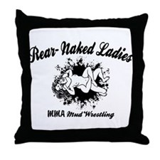 Rear Naked Ladies Throw Pillow