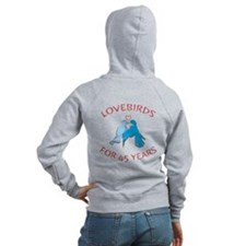 45th Lovebirds Zip Hoodie