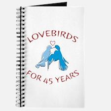 45th Lovebirds Journal