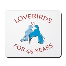 45th Lovebirds Mousepad