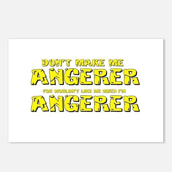 Don't Make Me Angerer Postcards (Package of 8)