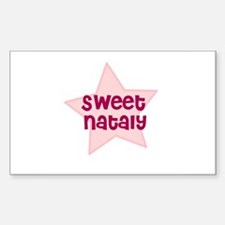 Sweet Nataly Rectangle Decal