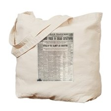 Titanic Sunk by Explosion Tote Bag