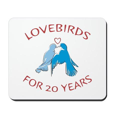 20th Lovebirds Mousepad