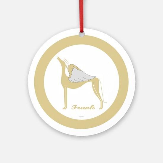 FRANK ANGEL GREY ROUND ORNAMENT