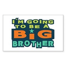 Big Brother Rectangle Decal