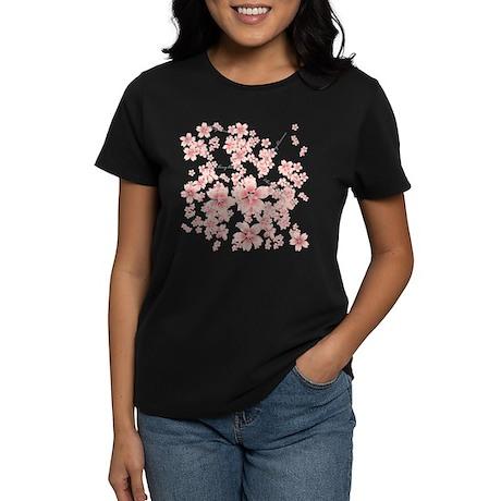 Cherry blossoms Women's Dark T-Shirt