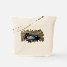 Wood Duck Drake Tote Bag