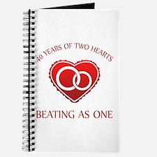 40th Heart Rings Journal