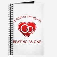25th Heart Rings Journal