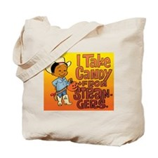 Candy From Strangers Tote Bag