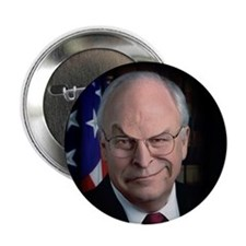MEAN CHENEY FACE - Button