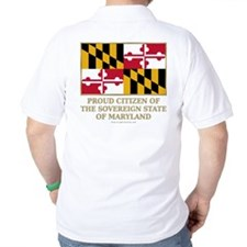 Maryland Proud Citizen T-Shirt