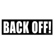 Back Off (sticker)
