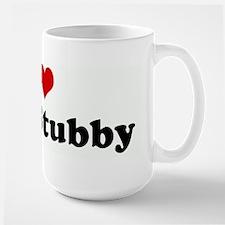 I Love My Stubby Large Mug