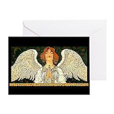 Pax Angel Greeting Card