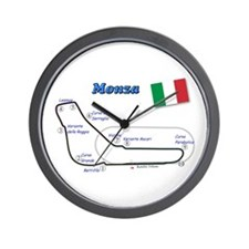 Race Circuits Wall Clock