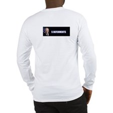 SNEERING DICK CHENEY - Long Sleeve T-Shirt