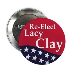 Re-Elect William Lacy Clay Button