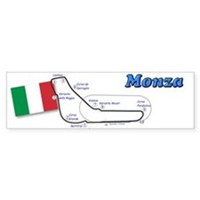 Race Circuits Bumper Bumper Sticker