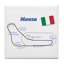 Race Circuits Tile Coaster