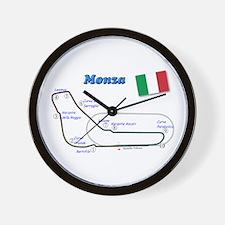 Race Circuits Wall Clock