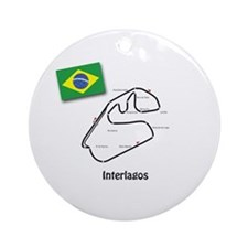 Brazil Ornament (Round)