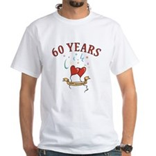 60th Festive Hearts Shirt