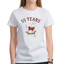 55th Festive Hearts Tee