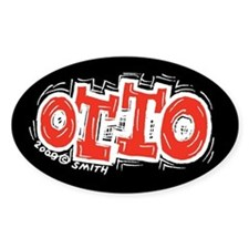 Otto Oval Decal