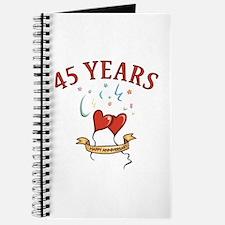 45th Festive Hearts Journal