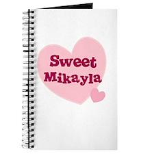 Sweet Mikayla Journal