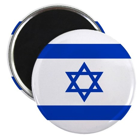 """Israeli Flag 2.25"""" Magnet (100 pack)"""
