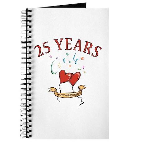 25th Festive Hearts Journal