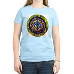 Stained Glass Shri Yantra Women's Light T-Shirt