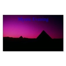 Giza Plain Rectangle Decal