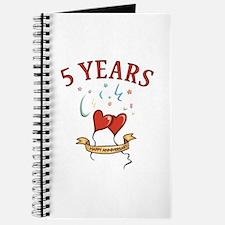 5th Festive Hearts Journal