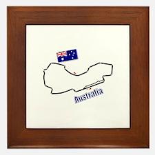 Albert Park, Australia Framed Tile