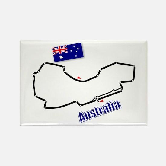 Albert Park, Australia Rectangle Magnet