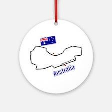 Albert Park, Australia Ornament (Round)