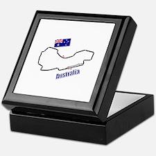 Albert Park, Australia Keepsake Box